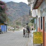 Yep..horses in town