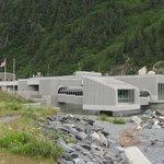Begich Boggs Visitor Center at Portage Glacier