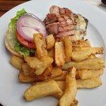 beef burger special, £11