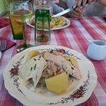 la choucroute aux 3 (delicieux) poissons.