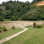 Part of the river for water rafting