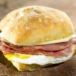 If you're looking for a lighter fare, try one of our breakfast sandwiches.
