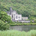 Kylemore Abbey, walled garden, restaurant and gift shop.