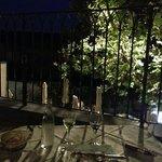 diner excellent en terrasse