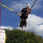 Flipping fun on the Bungee Jump