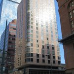 the Comfort Inn tower on 17th St.