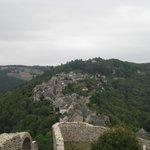vista del pueblo desde el fuerte