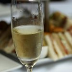 Tiny beaded champage