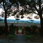 Cala la sera a Villa San Giorgio