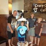 Crazy cow Photo Opp