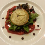 Baked goat's cheese