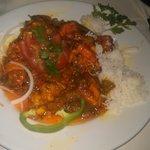 chicken & prawn special dish