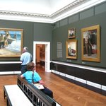 Room of Skagen School paintings
