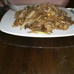""""""" Fat Noodles"""" dish with beeg"""