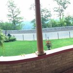 Amazing patio panorama