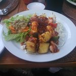 my favourite, the Seafood Kebab.
