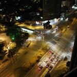 Esquina da Rebouças e Faria Lima a partir da cobertura