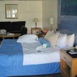 Suite Junior au 13è étage de l'hôtel