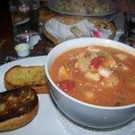 Soupe repas de poisson