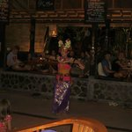 Bali dance performance..