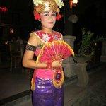 Bali dancer..