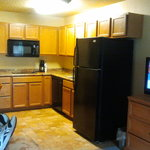 Spacious Room w/larger kitchen; very clean.