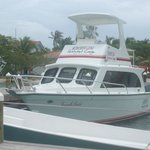 Hatchet Caye Boat