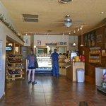 inside of bakery