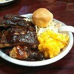 ribs and chicken..excellent!