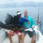 Kevin and i with a sailfish!