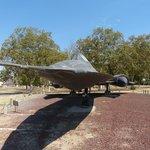 SR-71 Blackbird at Entrance (Free!)