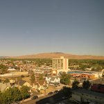 view of Reno & surrounding mountains