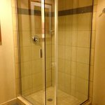 "separate shower in ""resort premium poolside queen room"""