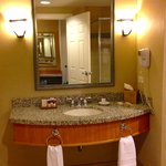 "vanity in ""resort premium poolside queen room"""