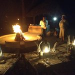 Four course dinner every night absorbing the Royal Kruger ambience