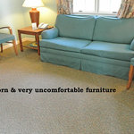 worn uncomfortable furnishings