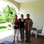 Nous, Louise et Pierrot de Valleyfield, et Tanya