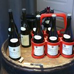 Michel Lahaye grows, harvests and makes his own wines