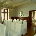 Lounge converted into ceremony room