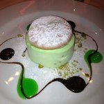 one of the fabulous desserts - Iced Souffle