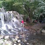 de waterval in Sonsbeek
