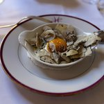 Egg with summer truffles