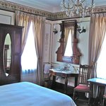 rooms with history in the furnishings!