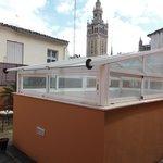 Terrasse avec vue sur la Giralda