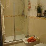 Bagno zona doccia