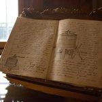 Libro di appunti enologici appartenente al primo capostipite della Famiglia, Bonuzzi Carlo 1888