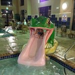 Lily The Frog Slide In Grand Splash