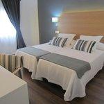 habitacion doble de dos camas