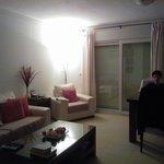 Living/dining room all open plan.