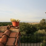 Vue sur la campagne Toscane